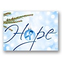Let Hope Shine - Blue Ribbon