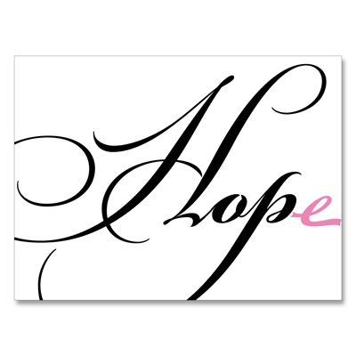 HOPE - Note Card