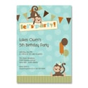 Party Monkeys - Birthday Invitation