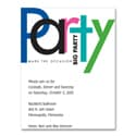 Big Party - Party Invitation
