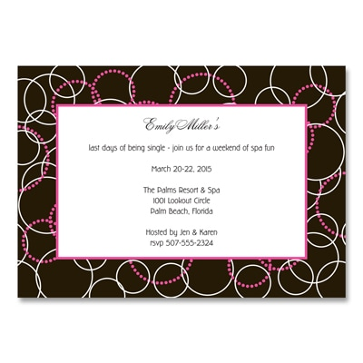 All-Around Style - Party Invitation