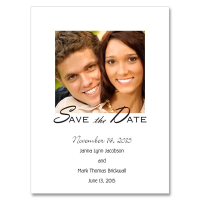Picture Perfect - Photo Save the Date