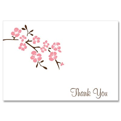Cherry Blossoms - Note Card