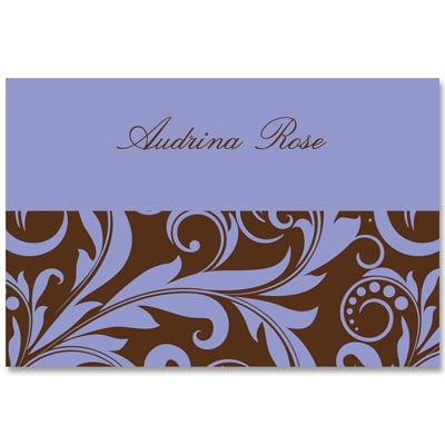 Bold Flourishes - Note Card