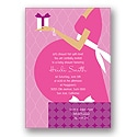 Baby Belly - Pink Baby Shower Invitation