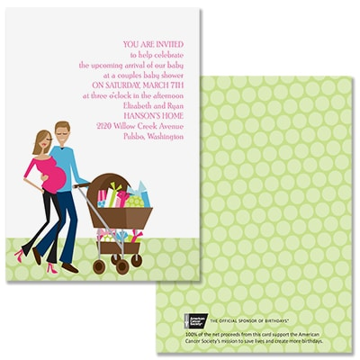 All Set - Baby Shower Invitation