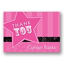 Rock Star - Thank You Card