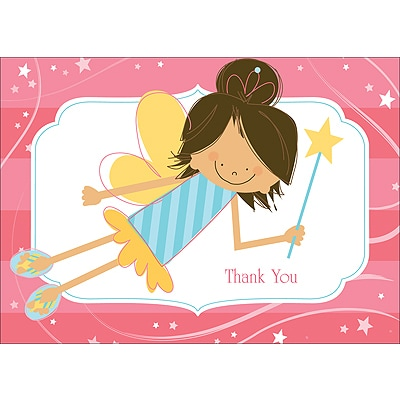 Fabulous Fairies - Thank You Card