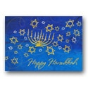 Menorah and Stars