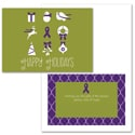 Symbols of the Season - Purple Ribbon