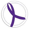 Purple Ribbon Seals