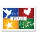 Colorful Hope Peace Joy