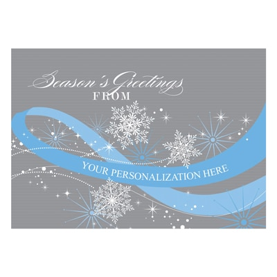 Spectacular Snowflakes - Blue Ribbon