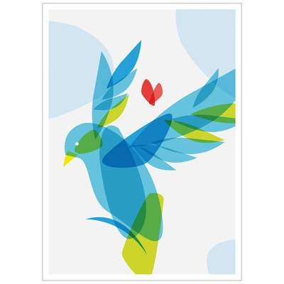 Dove of Hope Holiday Card