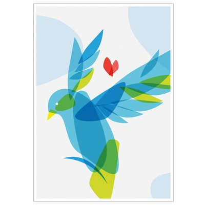 Dove of Hope Note Card