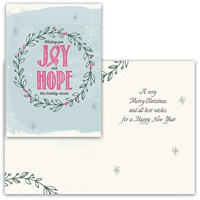 Joy & Hope - Pink Ribbon