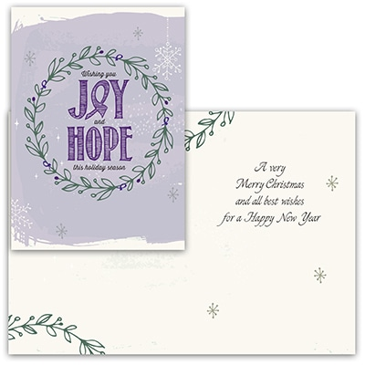 Joy & Hope - Purple Ribbon