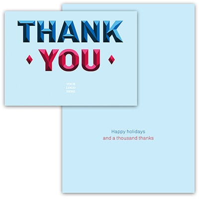Prismatic Thank You Card