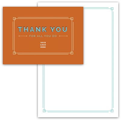 Spice Thank You Card