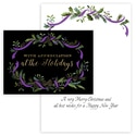 Ribbon Wreath - Purple
