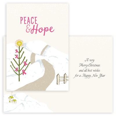 Peace and Hope - Pink Ribbon