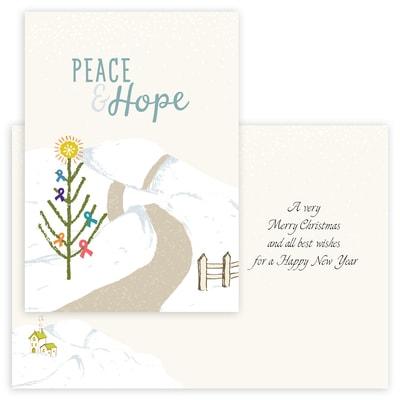 Peace and Hope - Multi Ribbon