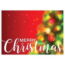 Muted Christmas Tree Lights