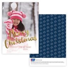 Family Christmas Photo Card