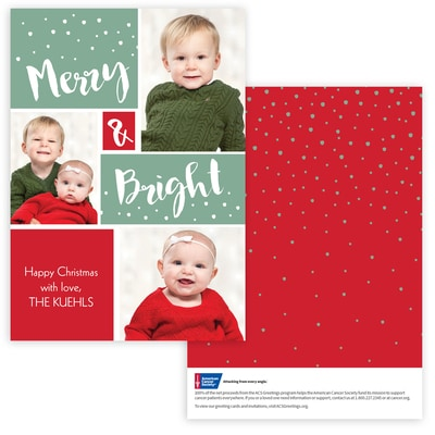 Happy Christmas Photo Card