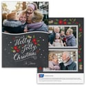 Jolly Christmas Photo Card