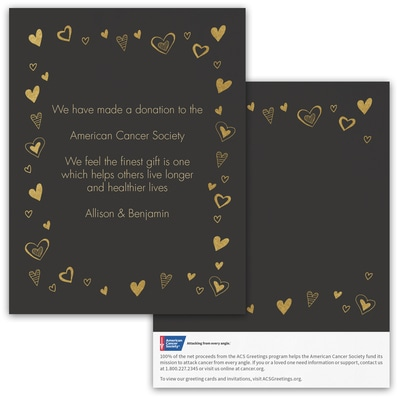 Love Abounds Donation Card