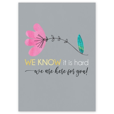 We Know it is Hard