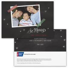Washi Tape Wishes Photo Card