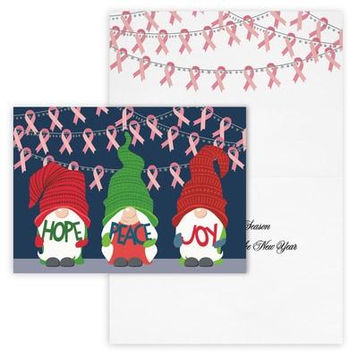 Friendly Gnomes - Pink Ribbons