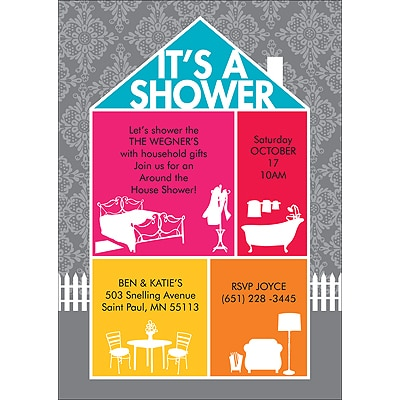 Home Sweet Home - Bridal Shower Invitation