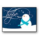 Message of Hope - Teal Ribbon
