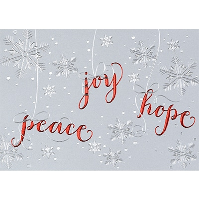 Peace, Joy and Hope
