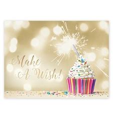 Make a Wish Cupcake