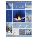 Peace, Hope, Joy Collage