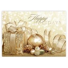 Happy Holidays Gold