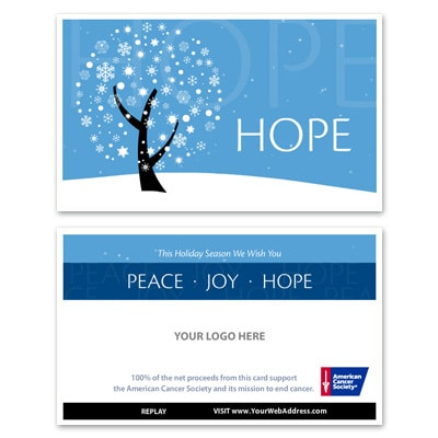 Peace, Joy, Hope E-Card