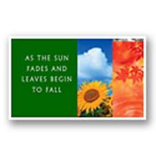 As Seasons Change E-Card