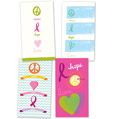 Pastel Symbols Note Card Assortment