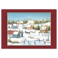 L'hiver au village