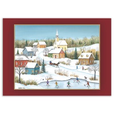 Winter in the Little Village