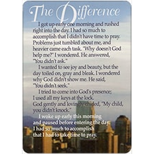 THE DIFFERENCE DreamVerse Inspirational