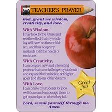 TEACHER'S PRAYER DreamVerse Inspirational