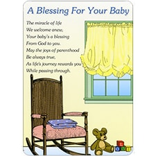 A BLESSING FOR BABY DreamVerse Encouragement