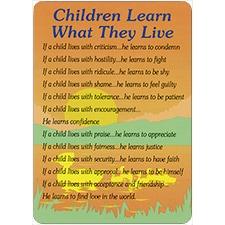 CHILDREN LEARN DreamVerse Encouragement