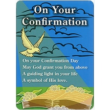 ON YOUR CONFIRMATION DreamVerse Encouragement